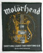 Motorhead - 'Everything Louder Than Everything Else' Woven Patch